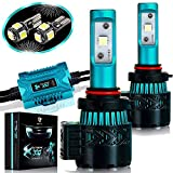 LED Headlight Bulbs Conversion Kit - H11(H8/H9) CREE XHP50 Chip 8000 Lumen 6K Extremely Bright 68w Cool White 6500K For Bright & Greater Visibility 2 Year Warranty by Glowteck