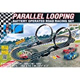 Fast Lane Parallel Looping Road Racing Set