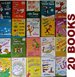 img - for Dr. Seuss's 20 Book SET: The Cat in the Hat , The Cat in the Hat Comes Back , Green Eggs and Ham, Green Eggs and Ham, Hop on Pop, Fox in Socks, The Foot Book .....See full list below book / textbook / text book