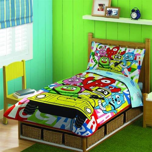Yo Gabba Gabba 4-pc. Toddler Bed Set