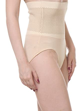 fd59a6f23a9b5 TeeMoods Womens Tummy Tucker Corset Panty TM 1627Skin available at Amazon  for Rs.599
