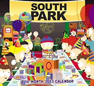 2013 South Park Wall Calendar Day Dream