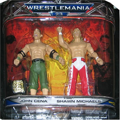 Buy Low Price Jakks Pacific WWE Wrestlemania Xxiii Series 3 2-pack Figure Set John Cena and Shawn Michaels (B000XPS6L2)