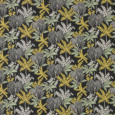 V&A Fabric - Palm Tree (Green)