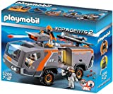 Toy - PLAYMOBIL 5286 - Spy Team Commander Truck