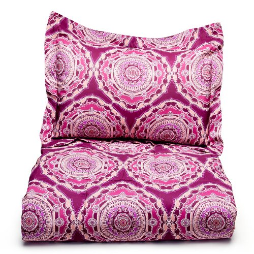 Steve Madden Marilyn Comforter Set, Twin front-1050649