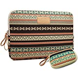 kayond®New Bohemian Style Canvas Fabric 14 Inch Netbook / Laptop / Notebook Computer Sleeve Case Bag Cover(14 Inch))