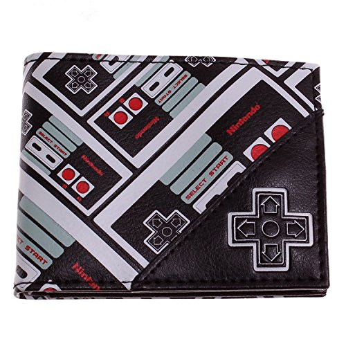 NES Controller All Over Print Bifold Wallet