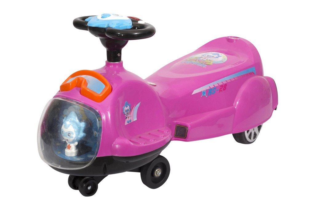 Amazon: Toyhouse Spaceship Swing Car Pink @ Rs 1,599 (50% OFF)