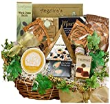 Art of Appreciation Gift Baskets The Savory Sophisticated Gourmet Food Basket with Caviar - Large