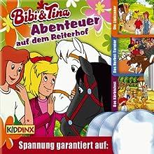 Bibi und Tina 3er-Box: Abenteuer auf dem Reiterhof (       ungekürzt) von Ulf Tiehm, Nelly Sand Gesprochen von: Susanna Bonaséwicz, Dorette Hugo, Hallgard Bruckhaus