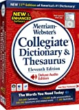 Merriam Websters Collegiate Dictionary & Thesaurus 11th Edition