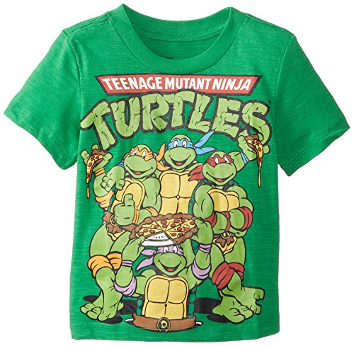Teenage Mutant Ninja Turtles Little Boys' Crew-Neck T-Shirt