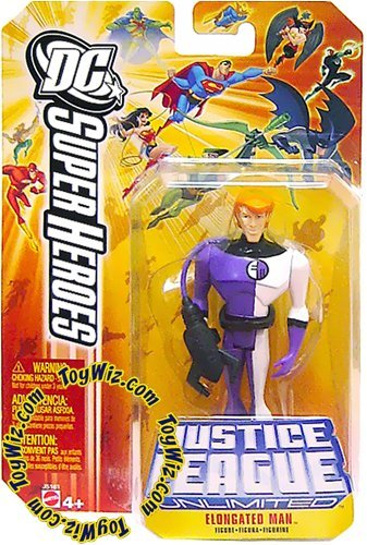 DC Superheroes Justice League Unlimited Elongated Man Action Figure