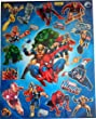 Marvel Heroes - A4 sheet of stickers