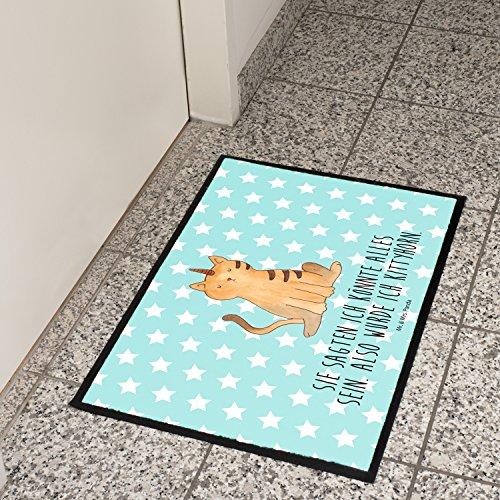 Mr-Mrs-Panda-Paillasson-Impression-Licorne-chat-100-Handmade-Velour-Licorne-Unicorn-arc-en-ciel-paillettes-Pups-paillettes-licorne-Power-Devenir-adulte-licorne-Amour-chat-chat-amour-corne-licorne-chat