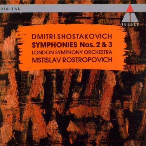 Shostakovich: Symphonies Nos. 2 & 3 (Shostakovich Symphony 3 compare prices)