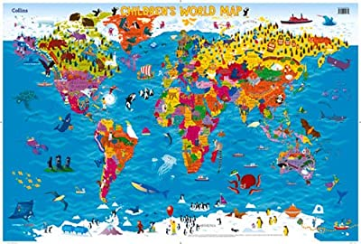 Collins Children's World Map