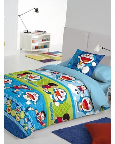 Euromoda Juego De Funda Nórdica Doraemon & Nobita