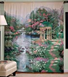 thomas kinkade curtains