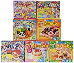 Hamburger Popin\' Cookin\' Kit DIY Candy By Kracie X 7 Different Styles