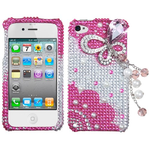 Apple iPhone 4 4S Hard Plastic Snap on Cover