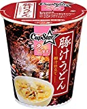 サッポロ一番 カップスター 豚汁うどん 粕汁仕立て 68g×12個