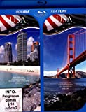 USA: Die Ost- und Südküste & USA: Die Westküste ( DOUBLE FEATURE ) (Blu-ray) [Alemania] [Blu-ray]