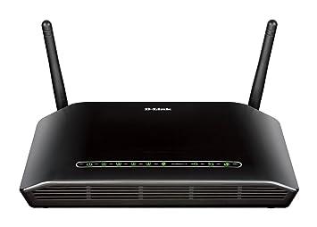 D-Link N300 ADSL2+ - Router (10, 100 Mbit/s, 10/100Base-T(X), 802.11b, 802.11g, 802.11n, 300 Mbit/s, 2.4 GHz, ADSL (RJ-11))