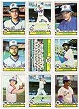 Atlanta Braves 1979 Topps Baseball Team Set (27 Cards) (Bob Horner Rookie) (Glenn Hubbard Rookie) (Dale Murphy) (Phil Niekro) (Gene Garber) (Gary Matthews) (Jeff Bourroughs) (Jerry Royster) (Jamie Easterly)