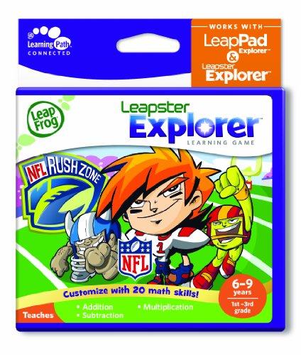 LeapFrog Explorer Learning Game: NFLRush Zone (works with LeapPad & Leapster Explorer)