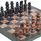 Abingdon Square Park Deluxe Marble Chess Set