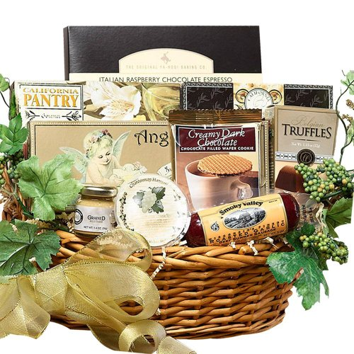 SCHEDULE YOUR DELIVERY DAY! Grand Edition Gourmet Food and Snacks Gift Basket – Medium