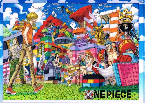 One Piece Clear File JF2012 [Jump Festa 2012] ONE PIECE / Eiichiro Oda [Discontinued records out of products] (japan import)