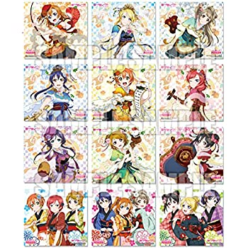 ラブライブ! トレーディングミニ色紙Vol.2 BOX商品 1BOX=12パック入り、全12種類