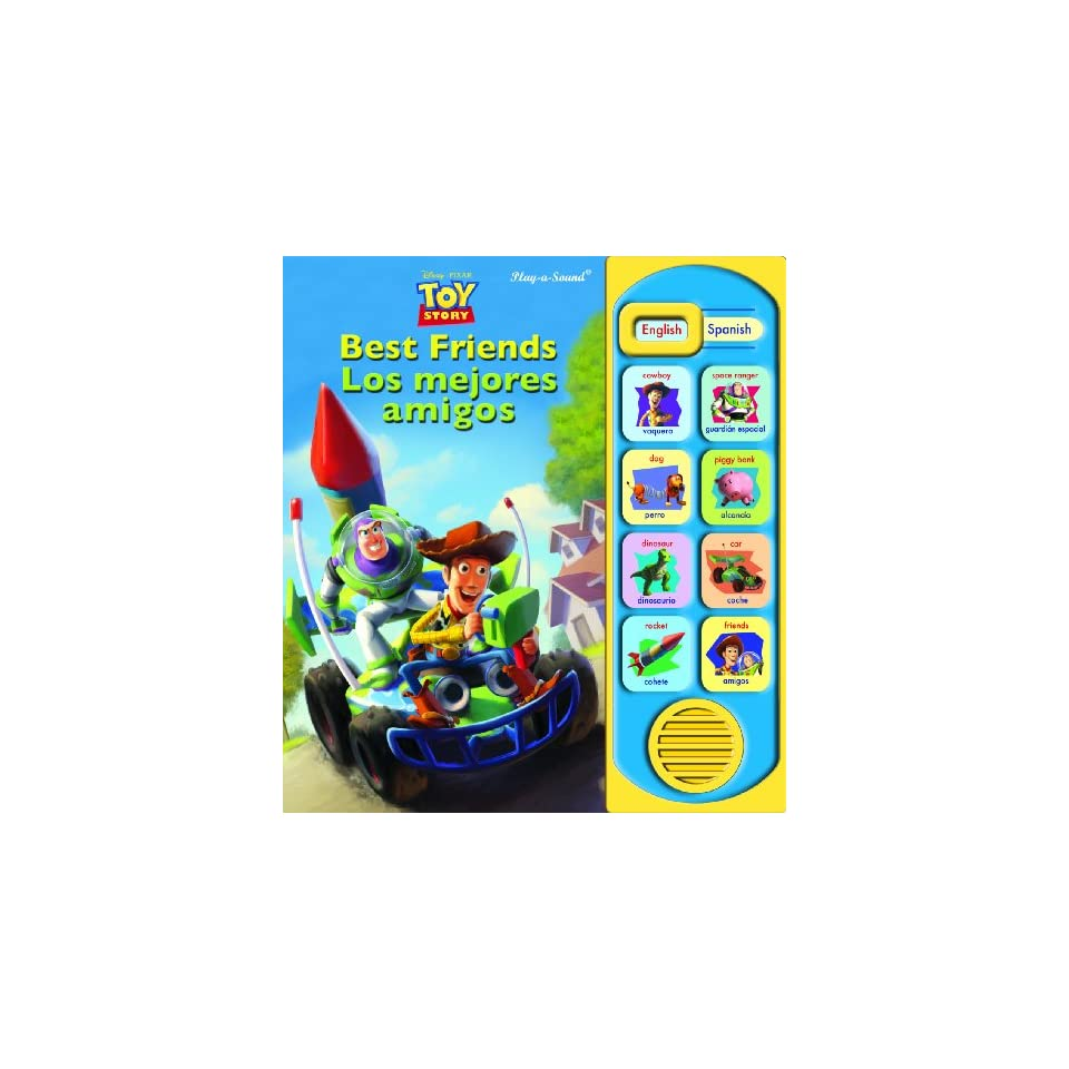 Toy Story Best Friends/Los Mejores Amigos (Little English Spanish Book)