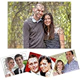 Personalized I Love You Photo Print Jigsaw Puzzle A4 Size 51 Pieces with Self Stand