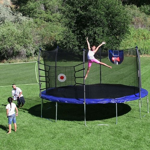 skywalker trampolines trampoline sports arena 15 round trampoline warehouse. Black Bedroom Furniture Sets. Home Design Ideas