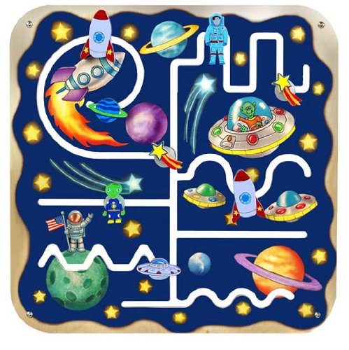 Outer Space Pathfinder Wall Panel by Anatex