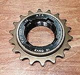 18丁フリーコグ 自転車 ピスト ピストバイク シングルスピード カスタムパーツ