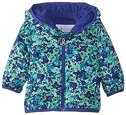Columbia Baby Girls\' Mini Pixel Grabber II Wind Jacket, Light Grape Print, 3-6 Months