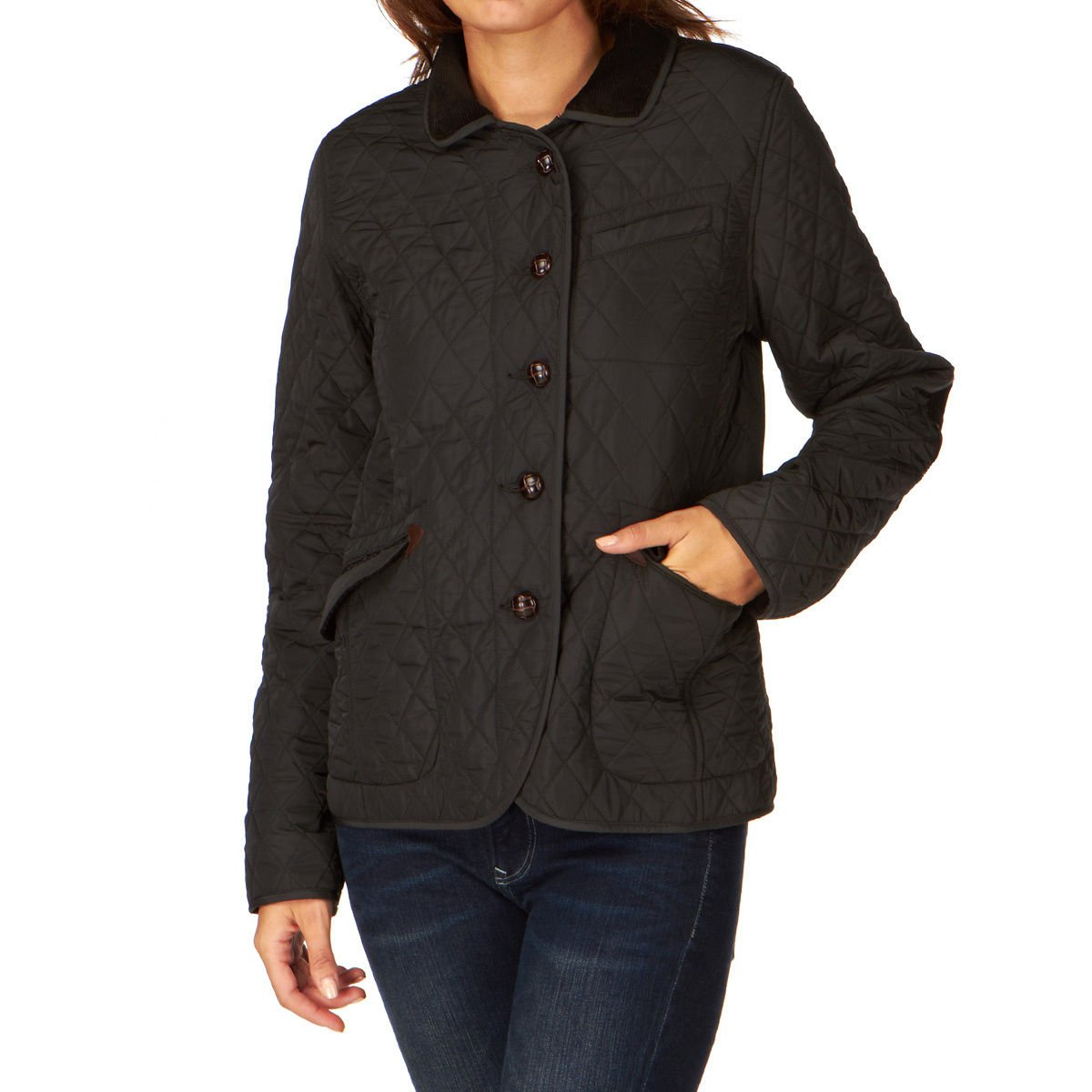 Aigle Sudhampton Damen Jacke Steppjacke, schwarz, Gr. D42 (Frz.44) günstig online kaufen