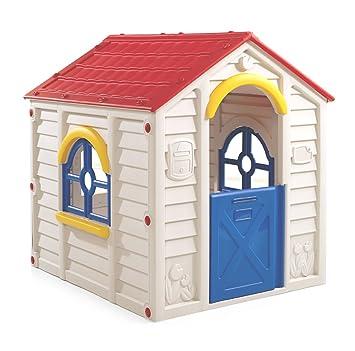 Casetta In Resina Bambini Giardino Esterno Casa Giardino