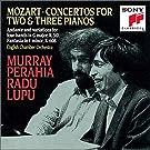 Mozart : Concertos pour 2 et 3 pianos