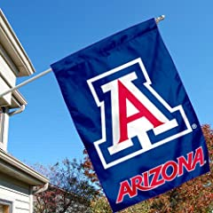 Buy Arizona Wildcats U of A College House Flag by College Flags and Banners Co.