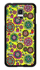 """Humor Gang Ethnic Birds Doodle Cute Printed Designer Mobile Back Cover For """"Samsung Galaxy S5"""" (3D, Glossy, Premium Quality Snap On Case)"""