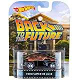 Hot Wheels Retro Back to the Future Ford Super De Luxe 1:64 Scale Collectible Die Cast Metal Toy Car Model