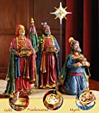 14-Piece-Christmas-Nativity-Set-Full-14-Inch-Real-Life-Nativity-Set-Includes-People-and-Animals