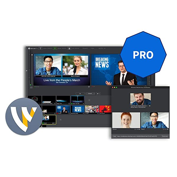 Telestream Wirecast Pro | Live Video Streaming Software Windows Electronic Delivery