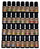 Aromatherapy Gift Set 32-10ml 100% Pure Therapeutic Grade Essential Oil